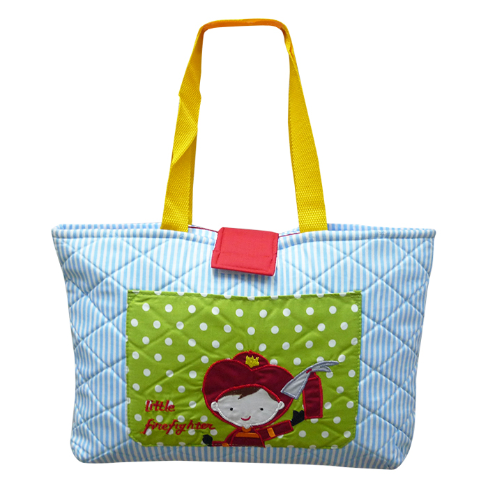 Quilted Tote Bag – Fireman