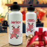 Christmas Sport Bottle Reindeer