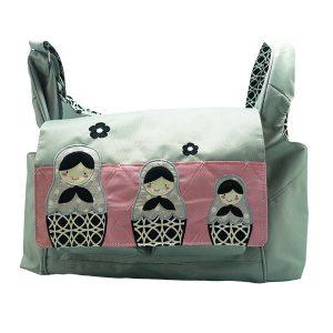 Baby Diaper Bag Celine Mathryoska Black 1