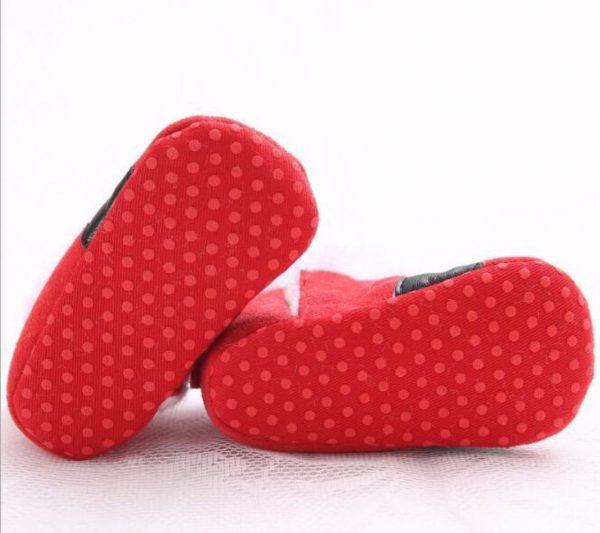Christmas Baby Shoes - Little Santa4