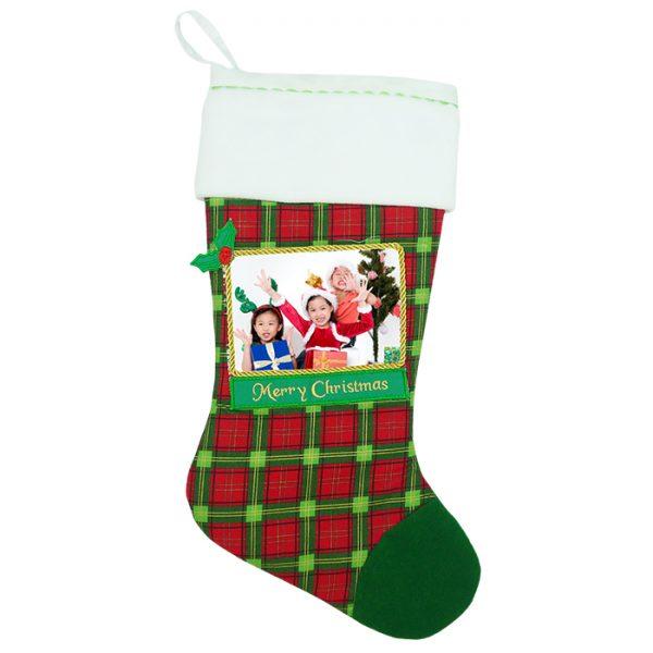 Christmas Stocking Green Photo
