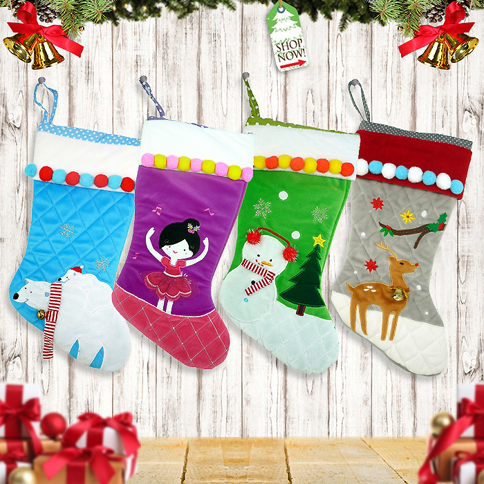 Shoes Stocking Christmas Characters