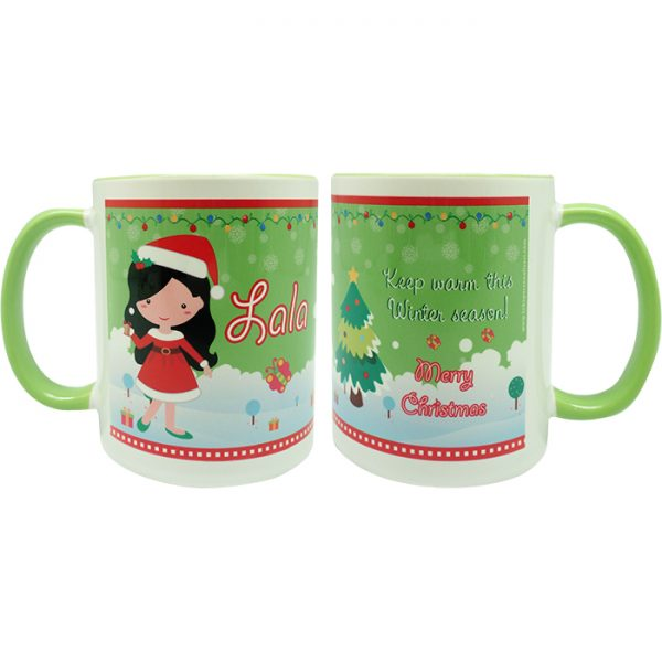 coffee mug Christmas characters collection - Amelia