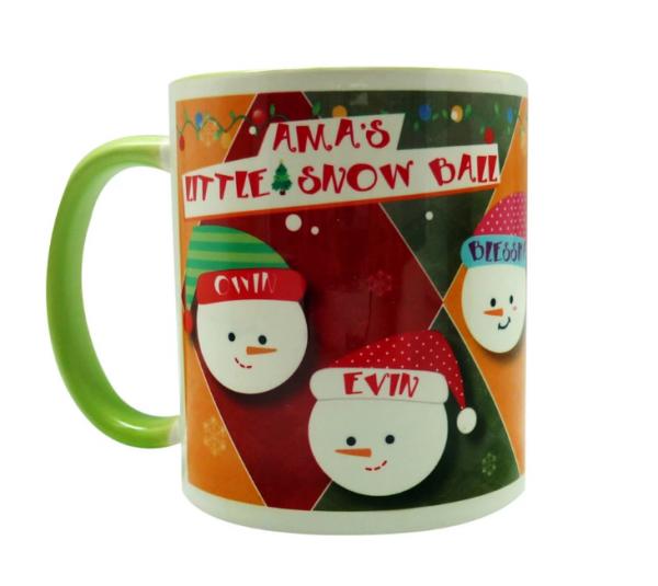 coffee mug Christmas characters collection - Snowball