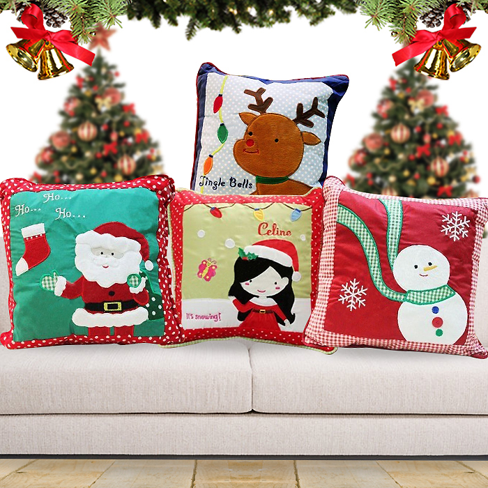 Cushion Christmas Characters