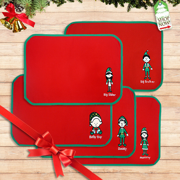 Christmas Family Placemats