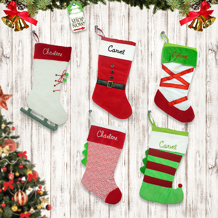 Shoes Stocking Christmas Collection