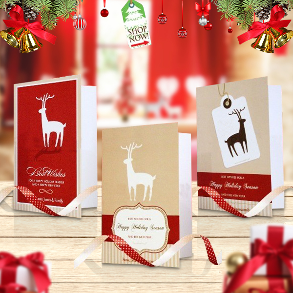 Greeting Card Christmas Reindeer