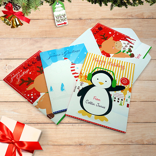 Greeting Card Christmas Character