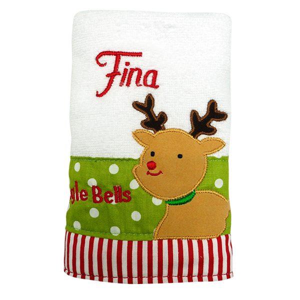 Hand Towel Reindeer