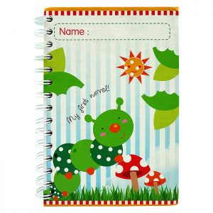 Notebook Caterpillar 1