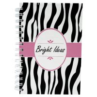 Notebook Pink Zebra 1