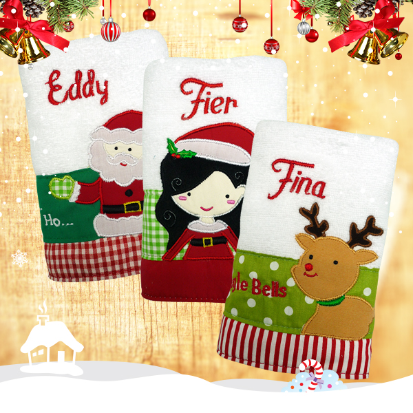 Hand Towel Christmas Collection