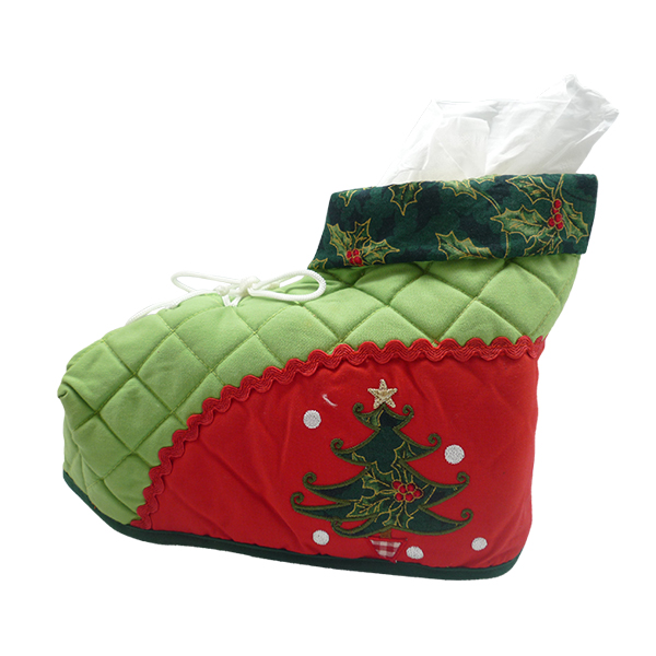 Tissue Box Christmas Tree 3