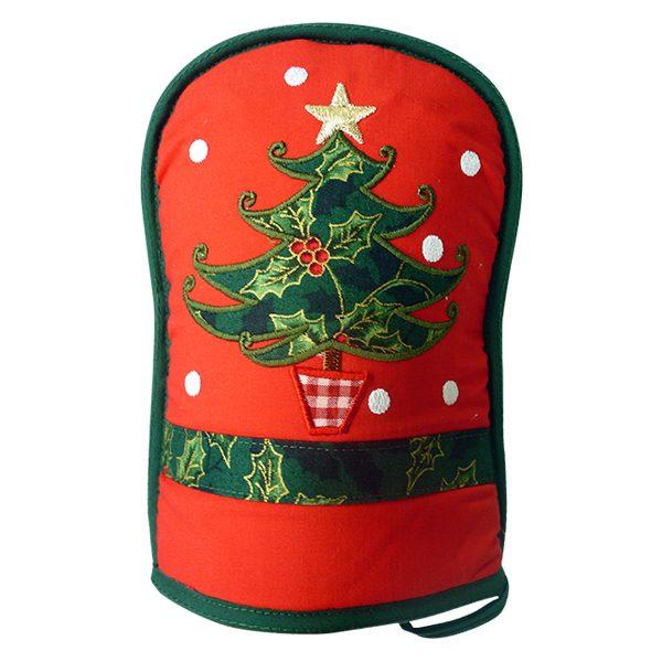 Oven Mitt - Christmas Tree 1