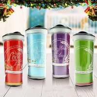 Christmas Tumbler Bottle Typography