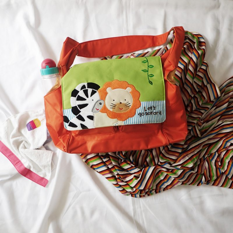 Baby Diaper Bag Celine Zebra & Lion