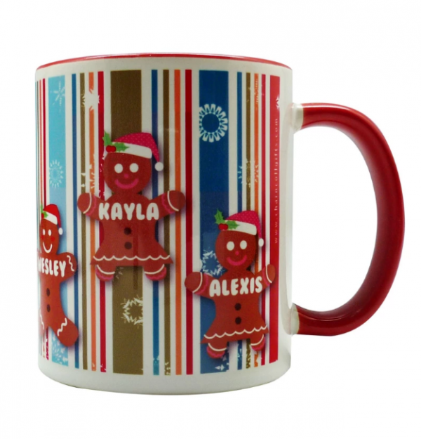 coffee mug Christmas characters collection - ginger bread