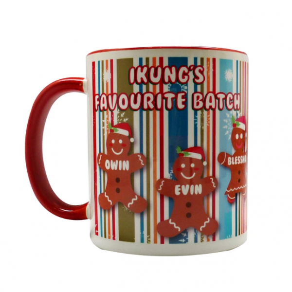 coffee mug Christmas characters collection - ginger bread