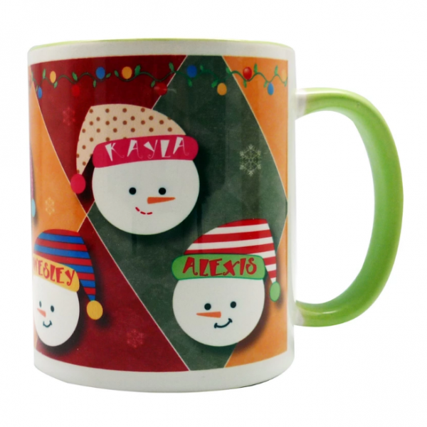 coffee mug Christmas characters collection - Snowball