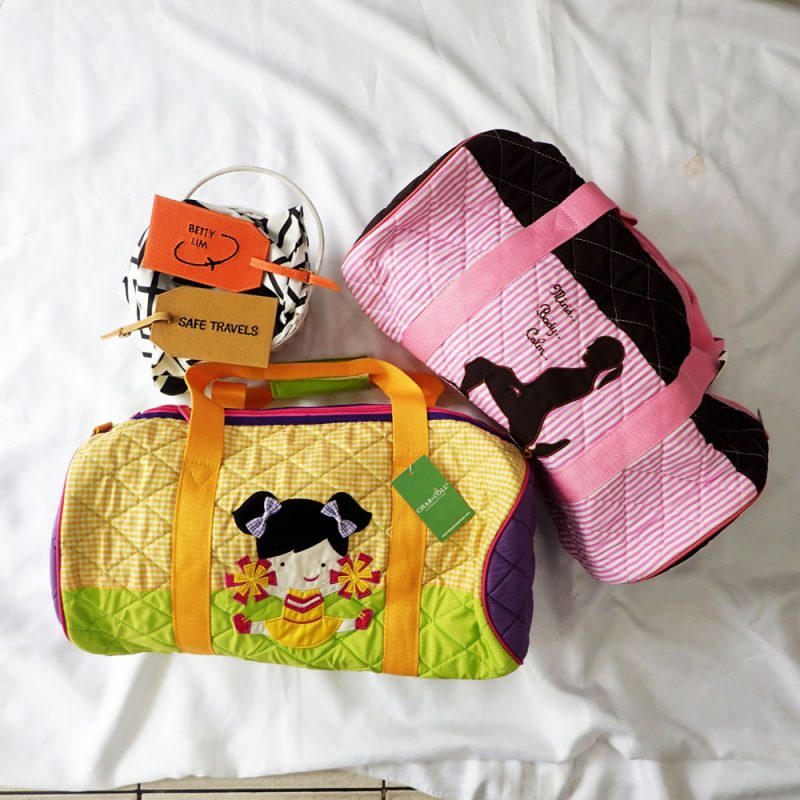 Travel BagDuffel Yoga Silhouette