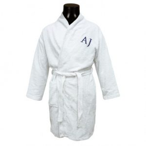 Bathrobe Adults Initial