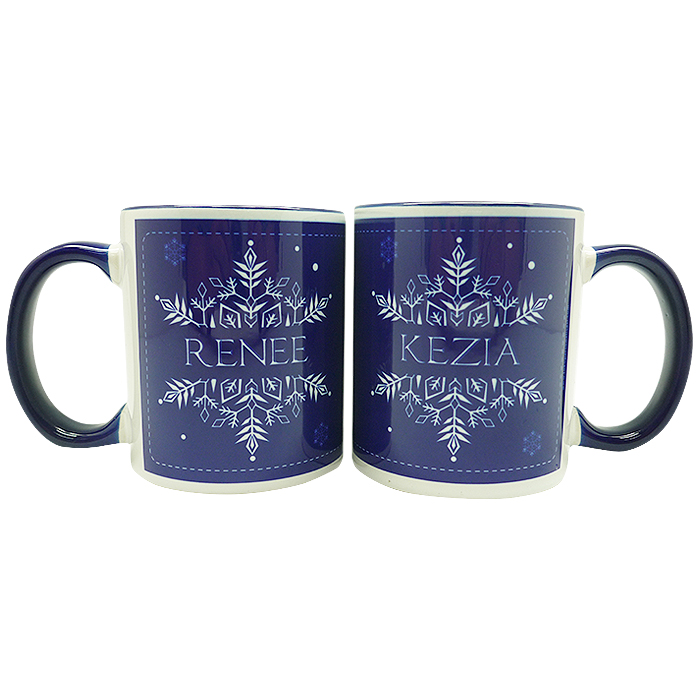 Coffee Mug Christmas Typhography