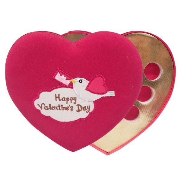 Love Bird Chocolate Box Fuschia - Happy Valentine's Day 2