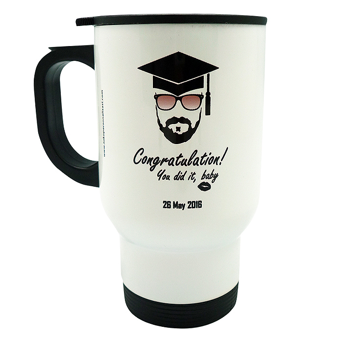 Travel Mug Graduate Custom