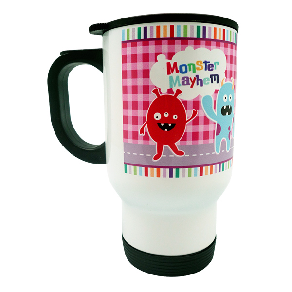 Travel Mug Little Monster Custom