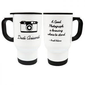 Stainless Steel Mug - Camera 1