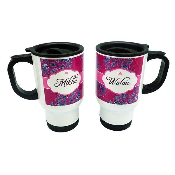 Stainless Travel Mug Parsley 1