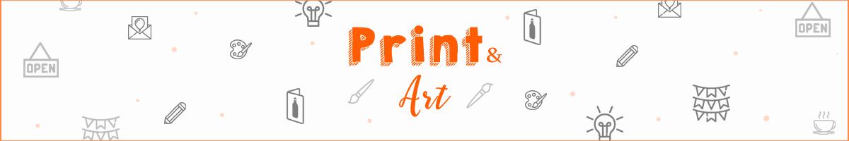 print and art