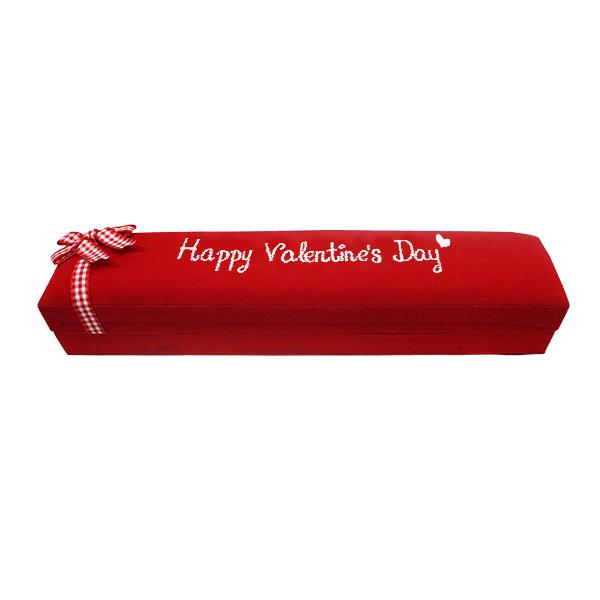Box Coklat Happy Valentine Day - Merah 2