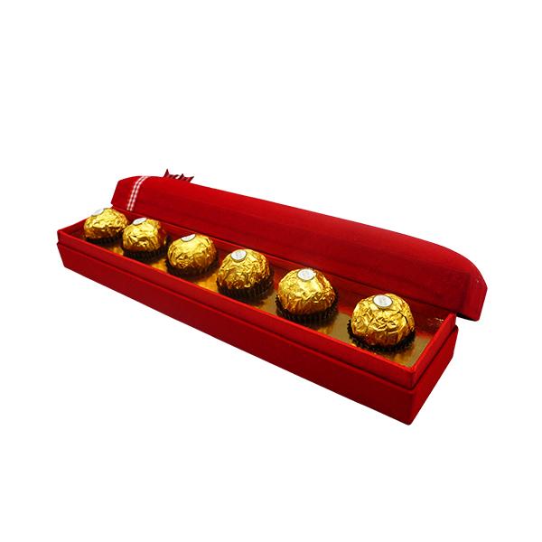 Box Coklat Happy Valentine Day - Merah 4