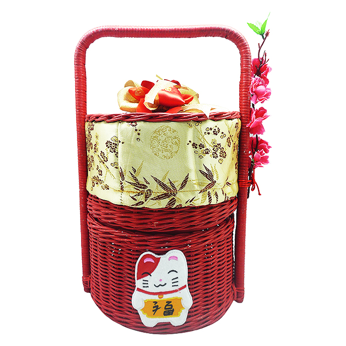 Chinese New Year Lunar Red Rattan