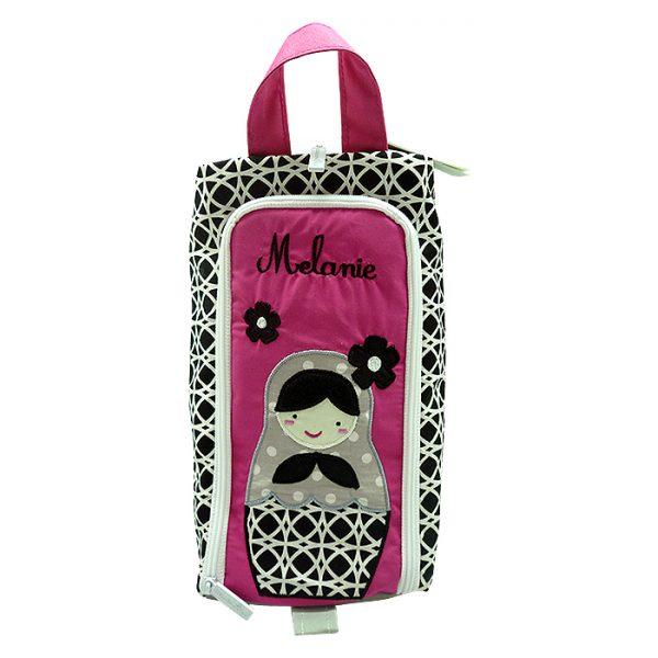 Oscar Shoe Bag - Matryoska Pink 1
