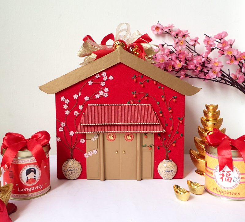 Chinese New Year House Gift Box