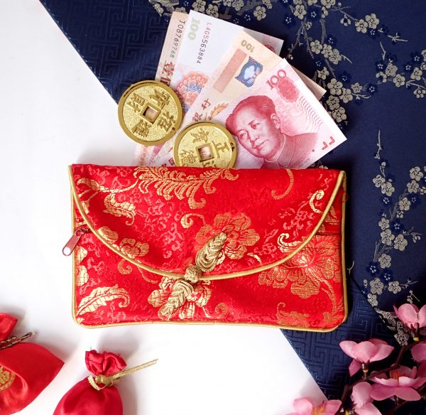 chinese new year cheongsam angpao wallet