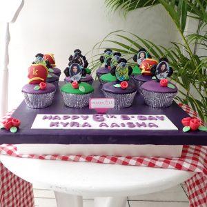 Descendant Birthday Cupcake