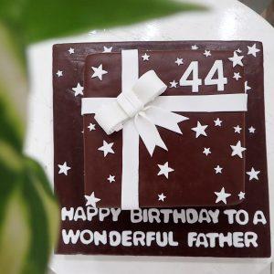 Ribbon Birthday Cake
