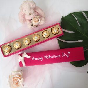 Box Coklat Happy Valentine Day - Fuschia 1