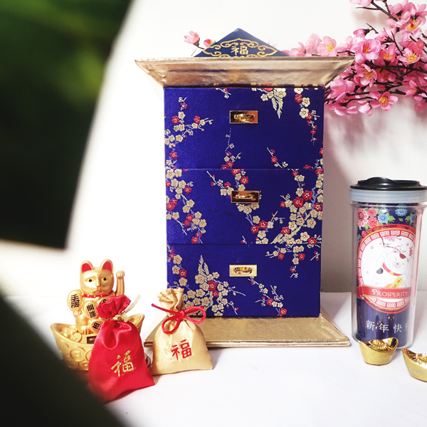 Chinese New Year Pagoda Box