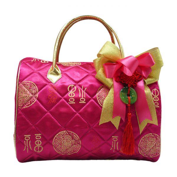 Speedy Bag Fuschia Dekorasi