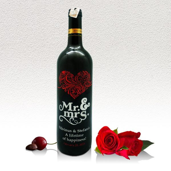 Wine Mr. & Mrs. Love