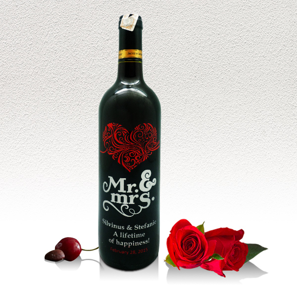 Valentine Heart Wine Collection