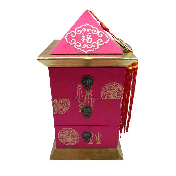 Pagoda Box Pink Fuschia