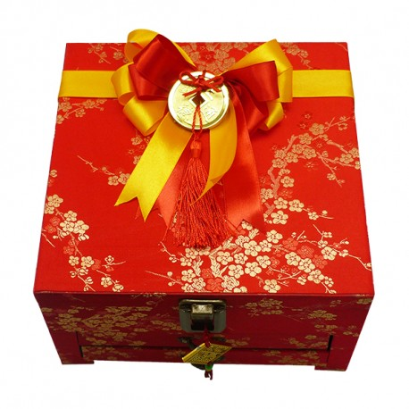 Trapesium Jewelry Box Imlek 2