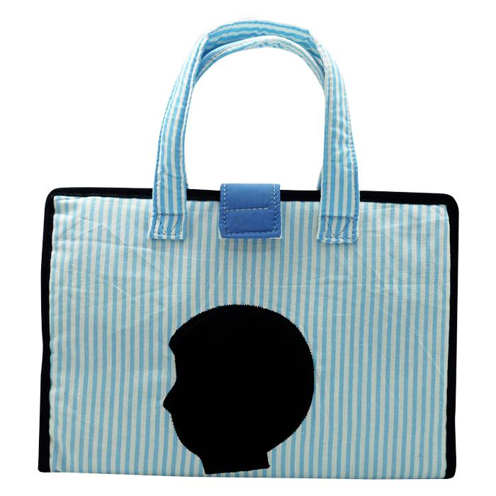 Art Bag Corat Coret Silhouette