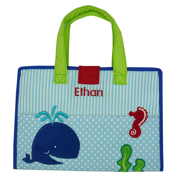 Art Bag Corat Coret Whale